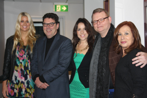 Kirsty Kingswell, James Valentine, Sharri Markson, Peter McNeil and Renee Symonds